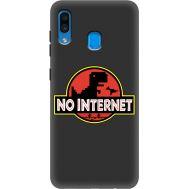 Силиконовый чехол BoxFace Samsung A205 Galaxy A20 No Internet (38282-bk69)