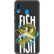 Силиконовый чехол BoxFace Samsung A205 Galaxy A20 Fish (38282-bk71)