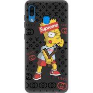 Силиконовый чехол BoxFace Samsung A205 Galaxy A20 Yellow Fun (38282-bk44)
