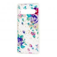 "Чехол для Samsung Galaxy S10+ (G975) Flowers Confetti ""цветы"""