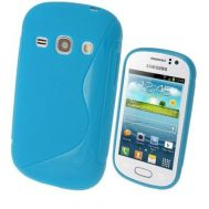 TPU Duotone Sams S6810 L. Blue (Galaxy Fame)