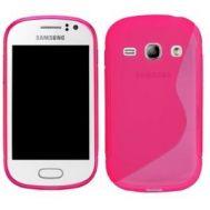 TPU Duotone Sams S6810 Pink (Galaxy Fame)