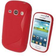 TPU Duotone Sams S6810 Red (Galaxy Fame)