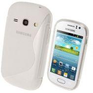 TPU Duotone Sams S6810 White (Galaxy Fame)