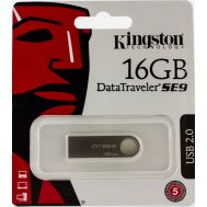 Флешка USB 2.0 Kingston DTSE9 16GB Metal (DTSE9H) Silver