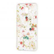 "Чехол для Samsung Galaxy J6+ 2018 (J610) Flowers Confetti ""полевые цветы"""