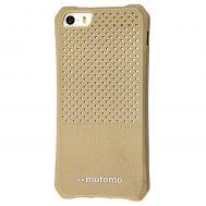 Чехол Motomo для iPhone 5 бежевый