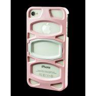 Накладка с подставкой для iPhone 4 iLuv Case розовый