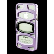Накладка с подставкой для iPhone 4 iLuv Case фиолетовый