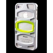 Накладка с подставкой для iPhone 4 iLuv Case белая