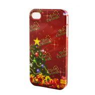 Накладка для iPhone 4 New Year merry christmas