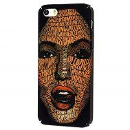 Чехол ibasi & Coer для iPhone 5 матовое покрытие лицо