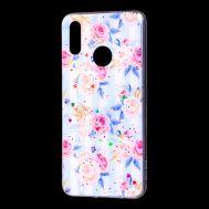 """Чехол для Huawei P Smart 2019 Flowers Confetti """"роз розы"""""""