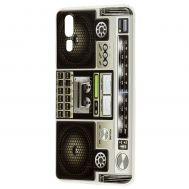 Чехол для Huawei P20 магнитофон дизайн 1