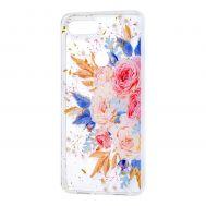 """Чехол для Xiaomi Mi 8 Lite Flowers Confetti """"кустовая роза"""""""
