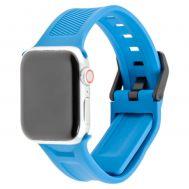 Ремешок для Apple Watch UAG Silicone scout 42mm / 44mm голубой