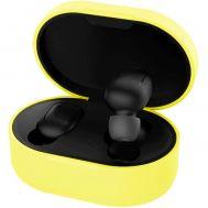 Чехол для AirDots Slim case желтый