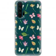Чехол для Huawei Honor 20 Pro Mixcase бабочки и цветы