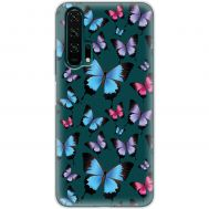 Чехол для Huawei Honor 20 Pro Mixcase бабочки