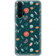 Чехол для Huawei Honor 20 Pro Mixcase цветочки дизайн 5