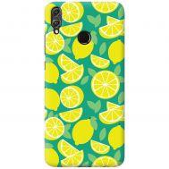 Чехол для Huawei Honor 8X Mixcase лимоны