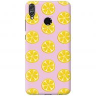 Чехол для Huawei Honor 8X Mixcase лимоны дизайн 2
