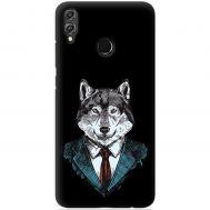 Чехол для Huawei Honor 8X Mixcase волк бос