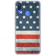 Чехол для Huawei P Smart Plus Mixcase флаг америки дизайн 2