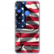 Чехол для Huawei P Smart Plus Mixcase флаг америки дизайн 3