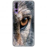Чехол для Huawei P20 Pro Mixcase взгляд волка
