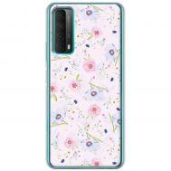 Чехол для Huawei P Smart 2021 / Y7A Mixcase цветочки
