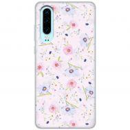 Чехол для Huawei P30 Mixcase цветочки