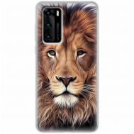 Чехол для Huawei P40 Mixcase царь зверей