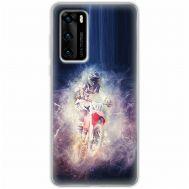 Чехол для Huawei P40 Mixcase спорт дизайн 22