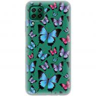 Чехол для Huawei P40 Lite Mixcase бабочки