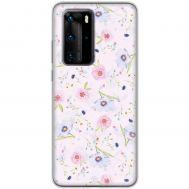 Чехол для Huawei P40 Pro Mixcase цветочки