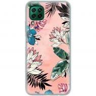 Чехол для Huawei P40 Lite Mixcase цветы и листья