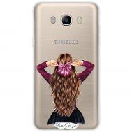 Чехол для Samsung Galaxy J5 2016 (J510) Mixcase девушки дизайн 22