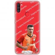 Чехол для Samsung Galaxy A11 / M11 Mixcase футбол дизайн 3