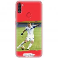 Чехол для Samsung Galaxy A11 / M11 Mixcase футбол дизайн 5