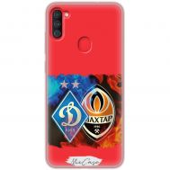 Чехол для Samsung Galaxy A11 / M11 Mixcase футбол дизайн 10