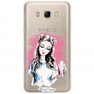 Чехол для Samsung Galaxy J5 2016 (J510) Mixcase девушки дизайн 16