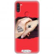 Чехол для Samsung Galaxy A11 / M11 для влюбленных 14