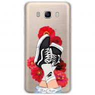 Чехол для Samsung Galaxy J5 2016 (J510) Mixcase девушки дизайн 5