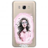 Чехол для Samsung Galaxy J5 2016 (J510) Mixcase девушки дизайн 25