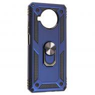 Чехол для Xiaomi Mi 10T Lite Serge Ring ударопрочный синий