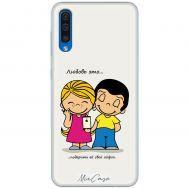 Чехол для Samsung Galaxy A50 / A30S (A505) для влюбленных 26
