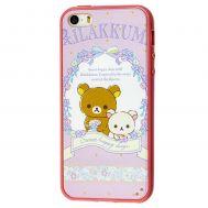 Чехол Hello Kitty для iPhone 5 розовый