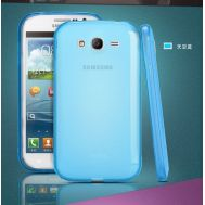 Silicon REMAX Samsung i9082 blue+пленка