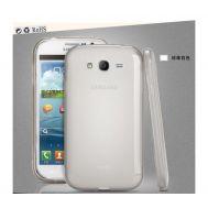 Silicon REMAX Samsung i9082 white+пленка